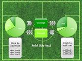 Football Play Field PowerPoint Template#11