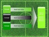 Football Play Field PowerPoint Template#12