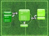 Football Play Field PowerPoint Template#13