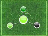 Football Play Field PowerPoint Template#14