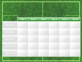 Football Play Field PowerPoint Template#15