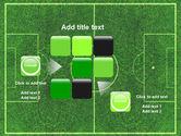 Football Play Field PowerPoint Template#16