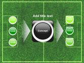 Football Play Field PowerPoint Template#17