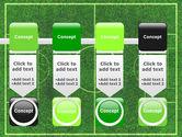 Football Play Field PowerPoint Template#18