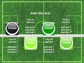 Football Play Field PowerPoint Template#19