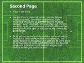 Football Play Field PowerPoint Template#2