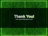 Football Play Field PowerPoint Template#20