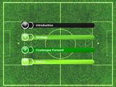 Football Play Field PowerPoint Template#3