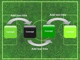 Football Play Field PowerPoint Template#4