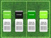 Football Play Field PowerPoint Template#5