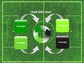 Football Play Field PowerPoint Template#6