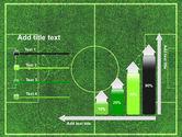 Football Play Field PowerPoint Template#8
