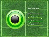 Football Play Field PowerPoint Template#9