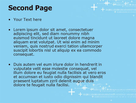 Telecommunication Cells PowerPoint Template, Slide 2, 05801, Technology and Science — PoweredTemplate.com