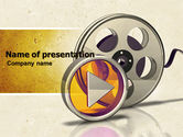 Careers/Industry: Moving Pictures PowerPoint Template #05803