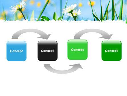 Field Flowers PowerPoint Template, Slide 4, 05804, Nature & Environment — PoweredTemplate.com