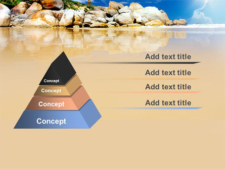 Stony Beach PowerPoint Template, Slide 4, 05807, Nature & Environment — PoweredTemplate.com