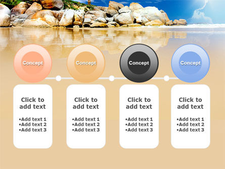 Stony Beach PowerPoint Template Slide 5