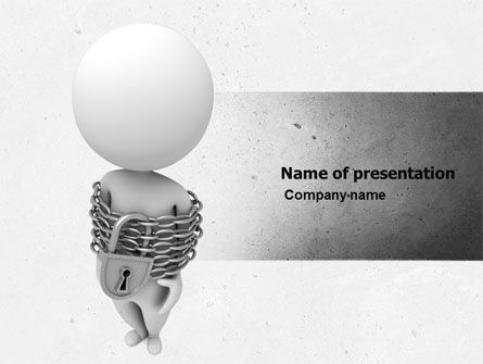 Non-Freedom PowerPoint Template