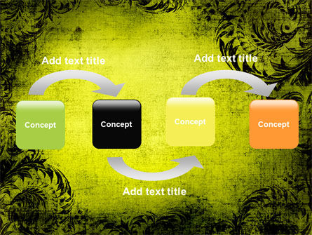 Thinking Process PowerPoint Template, Slide 4, 05809, Business Concepts — PoweredTemplate.com
