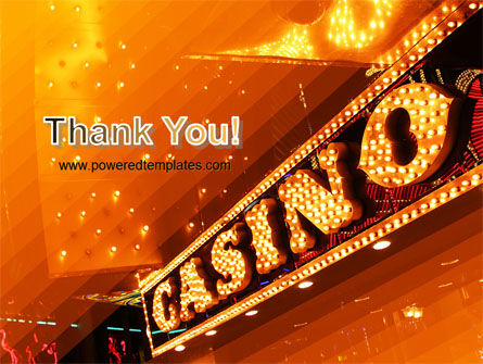 Casino PowerPoint Template Slide 20