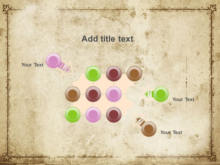 Grapes Ornament PowerPoint Template Slide 10