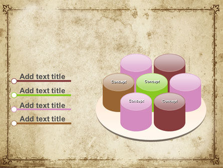 Grapes Ornament PowerPoint Template Slide 12