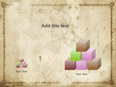 Grapes Ornament PowerPoint Template Slide 13