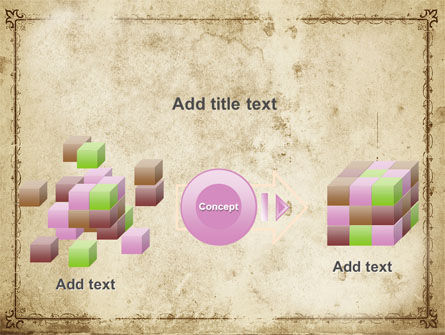 Grapes Ornament PowerPoint Template Slide 17