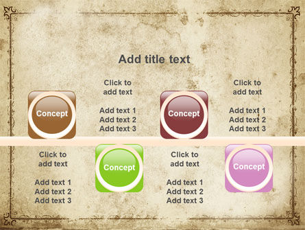 Grapes Ornament PowerPoint Template Slide 18