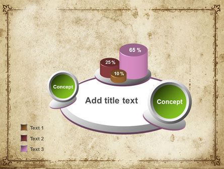 Grapes Ornament PowerPoint Template Slide 6