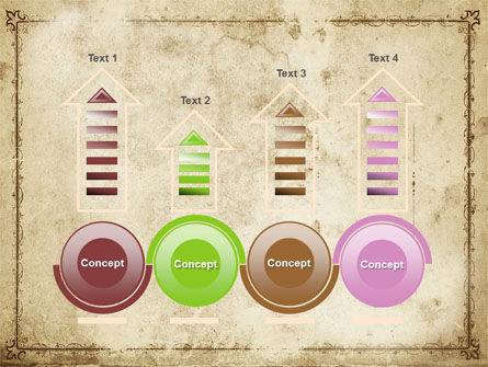 Grapes Ornament PowerPoint Template Slide 7