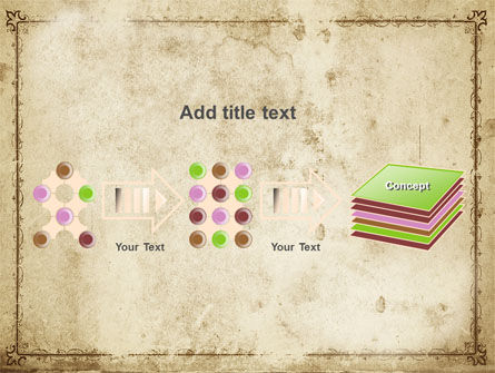 Grapes Ornament PowerPoint Template Slide 9