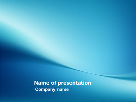 Abstract/Textures: Clean Blue PowerPoint Template #05814