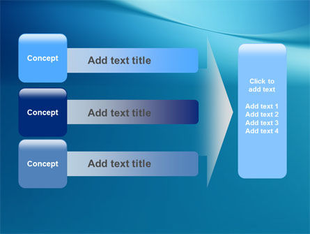 Clean Blue PowerPoint Template Slide 12