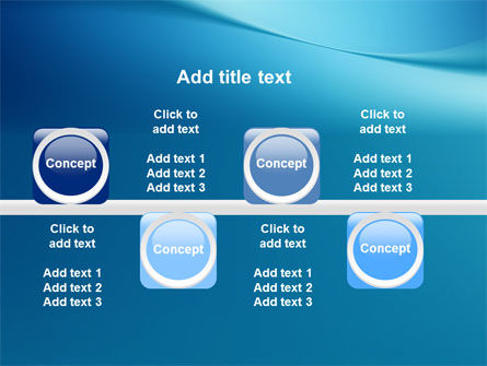 Clean Blue PowerPoint Template Slide 19