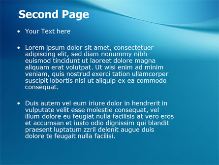 Clean Blue PowerPoint Template Slide 2