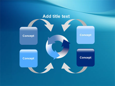Clean Blue PowerPoint Template Slide 6