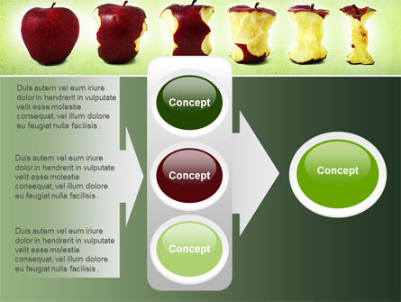 Bitten Apples PowerPoint Template Slide 11