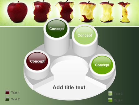 Bitten Apples PowerPoint Template Slide 12