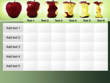 Bitten Apples PowerPoint Template Slide 15