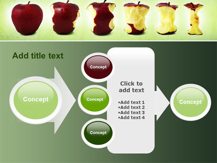 Bitten Apples PowerPoint Template Slide 17
