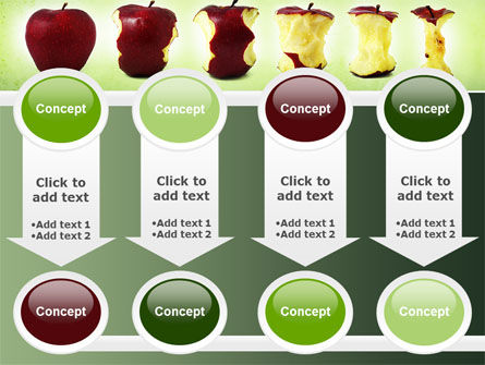Bitten Apples PowerPoint Template Slide 18
