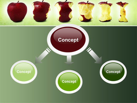 Bitten Apples PowerPoint Template Slide 4