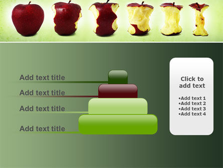Bitten Apples PowerPoint Template Slide 8