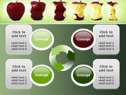 Bitten Apples PowerPoint Template Slide 9