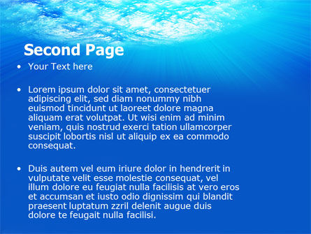 Coral Skerry PowerPoint Template, Slide 2, 05817, Nature & Environment — PoweredTemplate.com