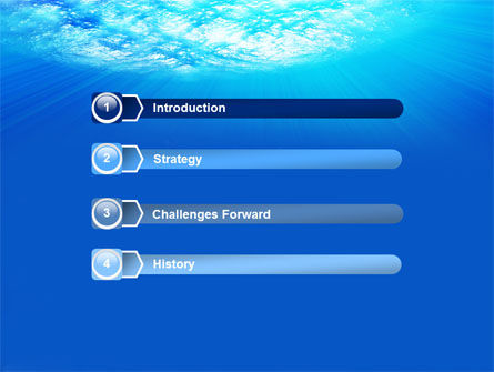Coral Skerry PowerPoint Template, Slide 3, 05817, Nature & Environment — PoweredTemplate.com