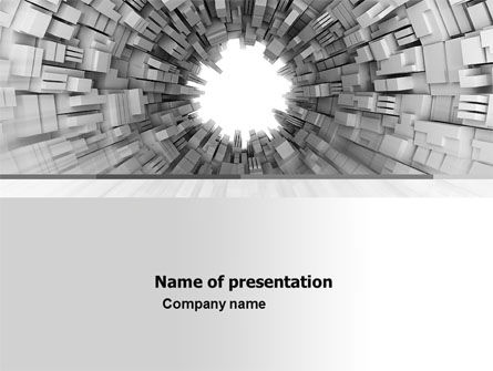 Abstract/Textures: Techno PowerPoint Template #05818