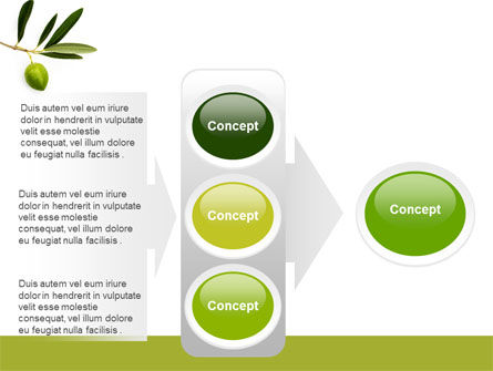 Olive Tree PowerPoint Template Slide 11
